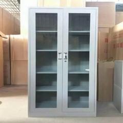 杭达/HD HD-W-21通体玻璃开门书柜展示柜文件柜档案柜