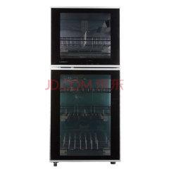 康宝/Canto ZTD118K-2U立式消毒柜 立式高温 黑色 黑