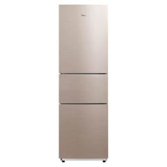 美的/Midea BCD-217WTM 三门冰箱 爵士棕 三门式 215