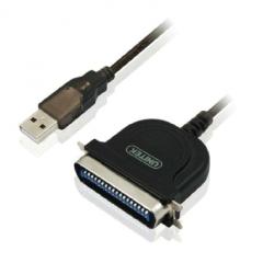 优越者/unitek Y-1020 USB转1284并口CN36数据打印线 黑 0