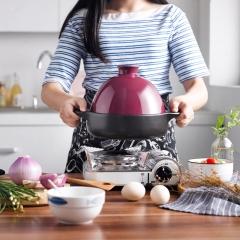 唯都 稻香养生塔吉锅W-D145 黑+紫