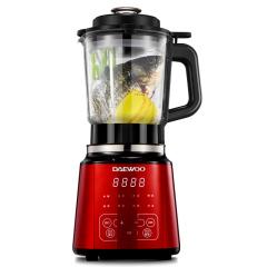 大宇/DAEWOO智能加热破壁机 多功能家用 豆浆果汁辅食料理 大屏 2L 红色 红色 红