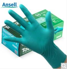 Ansell安思尔一次性橡胶医用食品清洁手套 92-600 其它 丁腈橡胶 其它 25cm*12cm*9cm