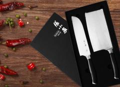 张小泉/Zhang Xiaoquan  锋戟系列二件套 厨房刀具套装