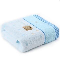 金号 3366WH 浴裙/浴袍/浴衣/浴巾蓝色小熊
