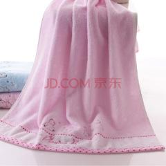 金号 5346WH 浴裙/浴袍/浴衣/浴巾粉色 130*65cm