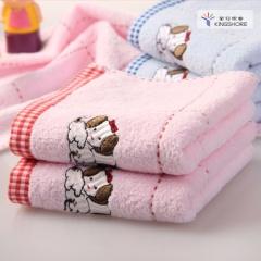金号 T1161H 毛巾/面巾/方巾T1072H红色 单条装 T1072H
