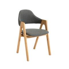 圣昂  SA-XXY-002 休闲椅A字椅餐椅会议椅接待椅实木脚