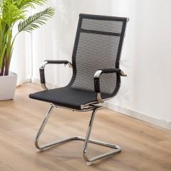 圣昂  AJG0001690 办公椅网布中背转椅可升降 其它 黑色转椅
