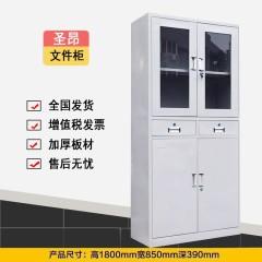 圣昂  SA-W-200 精品文件柜资料柜档案柜财务凭证柜加厚板材 其它 二门凭证柜