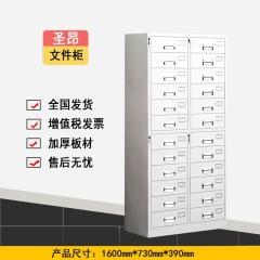 圣昂 SA-W-201 加厚办公铁皮柜文件柜档案柜资料柜储物柜 其它 中三斗