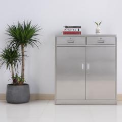 圣昂  BXG-011 不锈钢文件柜资料柜储物柜档案柜中二斗 304 二斗矮柜