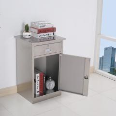 圣昂  BXG-011 不锈钢文件柜资料柜储物柜档案柜中二斗 304 小矮柜