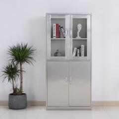 圣昂  BXG-011 不锈钢文件柜资料柜储物柜档案柜中二斗 304 等体器械柜