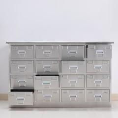 圣昂 BXG-016 不锈钢16抽药剂台中药柜西药柜医院专用调剂台