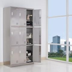 圣昂 BXG-021 不锈钢9门柜多门储物柜更衣柜员工柜碗柜厨房柜鞋柜