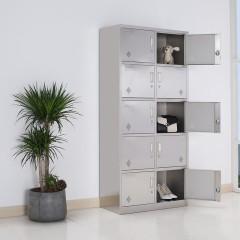 圣昂  BXG-022不锈钢10门 更衣柜多门储物柜