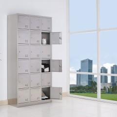 圣昂  BXG-025 不锈钢18门储物柜碗柜厨房柜子更衣柜