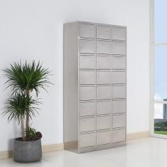 圣昂 BXG-026不锈钢24门储物柜碗柜厨房柜 更衣柜