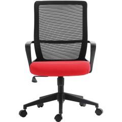 圣昂 1805人体工学椅 办公椅电脑椅转椅中班椅职员椅 其它 黑色带头枕