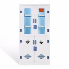 圣昂 pp  4门药品柜 药柜化学试剂柜耐腐蚀酸碱柜双锁危险品储存安全柜实验室器皿柜