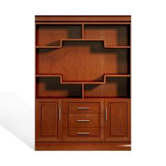 圣昂/SHENGANG  F9C总裁系列 油漆班台/主管桌办公桌真皮大班椅会议椅茶几书柜沙发 FM9C134