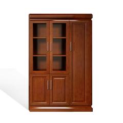 圣昂/SHENGANG  F9C总裁系列 油漆班台/主管桌办公桌真皮大班椅会议椅茶几书柜沙发 FM9C103右