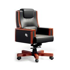 圣昂/SHENGANG  F9C总裁系列 油漆班台/主管桌办公桌真皮大班椅会议椅茶几书柜沙发 西皮大班椅