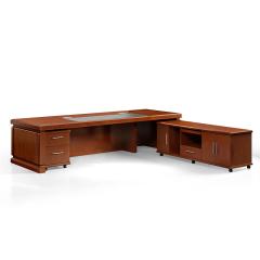圣昂/SHENGANG  F9C总裁系列 油漆班台/主管桌办公桌真皮大班椅会议椅茶几书柜沙发 F9C321(3.2米班台)