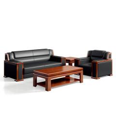 圣昂/SHENGANG  F9C总裁系列 油漆班台/主管桌办公桌真皮大班椅会议椅茶几书柜沙发 西皮沙发