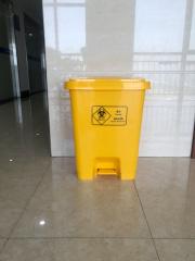 加厚医疗废物垃圾桶脚踏式 15L