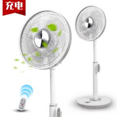 大松/TOSOT FSZ-3008BaG7充电式直流变频电风扇立式家用静音7页落地扇摇头 白色 白