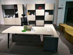 格诺瓦 16D2201  2米班台主管桌经理桌1950*1850*750 2米 人造板 三聚氰胺