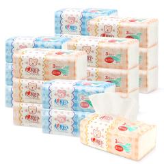 心相印/Mind Act Upon Mind DT1120 3包装 婴儿抽面巾纸